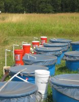 Tanks prepped for experiment