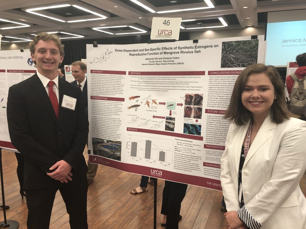 Nathaniel Hill and Victoria Colon (Earley Lab)
