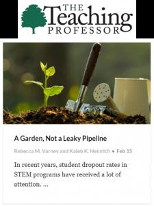 Garden not pipeline
